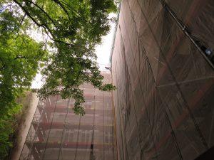Minderung bei Gerüstaufstellung und Fassadenarbeiten