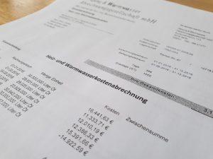 Heizkostenabrechnung bei Schätzung des Verbrauchs