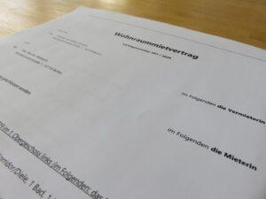 Kündigungsausschluss – Wie beende ich den Mietvertrag?